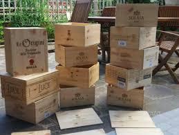 cassette vino cassette di legno vino giardino e fai da te in vendita a roma