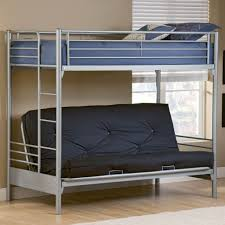Black Futon Bunk Bed Bedroom Intriguing Blue And Gray Futon Bunk Bed With