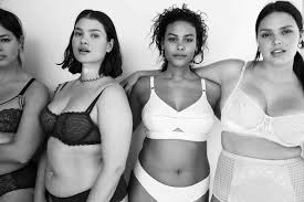 Calvin Klein S Plus Size Model Sparks Controversy - vogue responds to plus size backlash with lingerie for all shapes