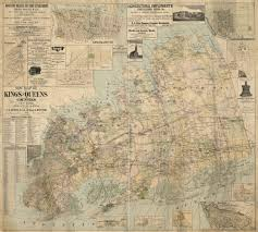 Map Of Long Island New York by New Map Of Kings And Queens Counties New York From Actual