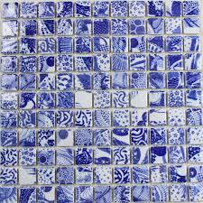 mosaic tile designs porcelain tile snowflake style mosaic art design