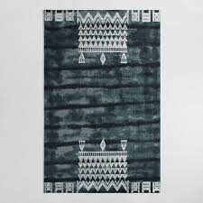 How To Dye An Area Rug Gray Tie Dye Woven Wool Sepi Area Rug World Market