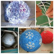 outdoor light christmas decoration solar led ball light outdoor