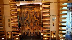 burj al arab dubai gold gold golden elevators hd quality mov