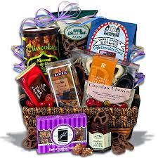 chocolate gift basket christmas gifts for women
