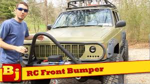 jeep stinger bumper purpose rough country front winch bumper install youtube