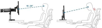 Optimal Desk Height Arctic Cooling Z3 Pro Desk Mount Triple Monitor Arm W 4 Port Usb