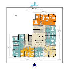 anthill residence apartment plans
