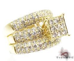 yellow gold wedding ring sets yg wedding ring set engagement yellow gold 14k
