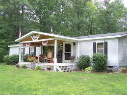 nice front porches for mobile homes white houses porches back