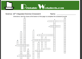 10th grade science includes free printables in integrated science
