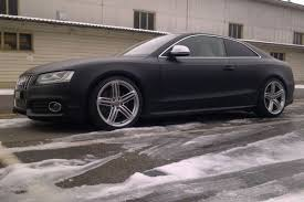 matte audi s5 audi s5 awesomeness in matte black the german car