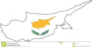 Map Of Cyprus Vector Map Of Cyprus Stock Images Image 8032454