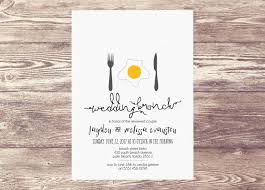 Wedding Shower Invites Printed Wedding Brunch Invitation Newlywed Brunch Brunch Invite