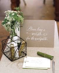guest book ideas 46 guest books from real weddings martha stewart weddings