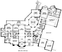 main floor master bedroom house plans european style house plan 6 beds 7 50 baths 9772 sq ft plan 141 279