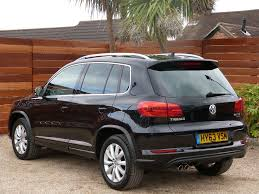 black volkswagen tiguan used black vw tiguan for sale dorset