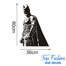 aliexpress com buy batman wall decal vinyl sticker the dark aliexpress com buy batman wall decal vinyl sticker the dark knight superhero atr home decor wall sticker children bedroom decoration 2 sizes from reliable