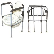 Bathroom Accessories For Senior Citizens Toilet Safety Rail For Patients And Elderly In India By Vissco