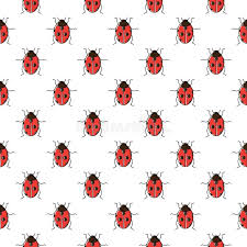 ladybug wrapping paper ladybug seamless pattern ladybird repeating background for