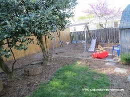 backyard play area diy swing set pinkandgreenmamablog dma homes
