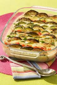 cuisiner une aubergine tian de courgettes aubergines et poivron maggi