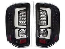 2011 chevy silverado smoked tail lights new generation black housing replacement led white c streak tail