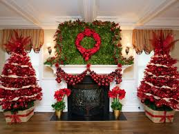 celebrity holiday homes red christmas christmas tree and holidays