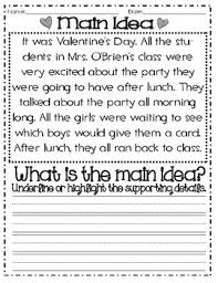 main idea and details valentine u0027s themed common core tpt