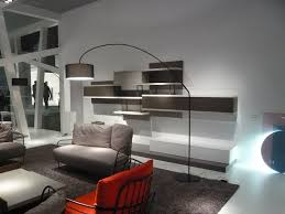 superb arc floor lamp in living room modern with new york