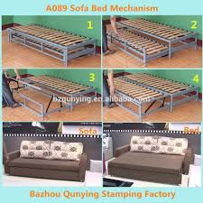 Sofa Bed Metal Frame Pulled Out Sofa Bed Mechanism Frame A089 Buy Sofa Bed Mechanism