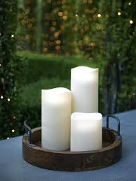stunning battery operated window candles with timer white