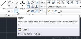 tutorial autocad hatch how to hatch