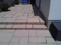 Patio Slabs Bridgend Cwm Llynfi Bricklaying 2012