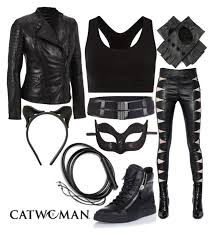 Homemade Catwoman Halloween Costume Cat Woman Costume