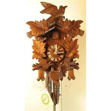 8 Day Cuckoo Clock Feeding Birds Chalet Cuckoo Clock With One Day Movement