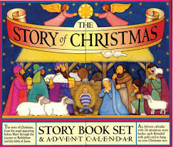 amazon com the story of christmas 0019628152503 mary packard