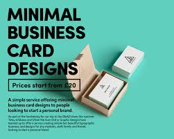 Latest Business Card Designs Graphic Designers Launch Minimal Business Card Design Service