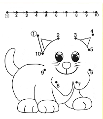dot coloring pages dog dot to dot coloring pages for kids coloring pages