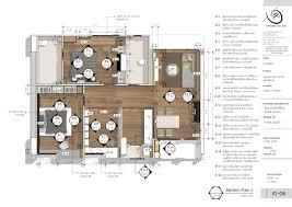 section created with skalp for sketchup interior design skalp