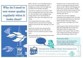water chemistry oata aquarium fish care aquarium care