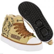 heelys x2 zoo series panda boys roller skate shoes trainer uk size