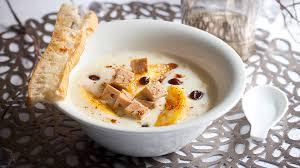 recette cuisine pomme de terre recette velouté de pomme de terre au foie gras recette entrée