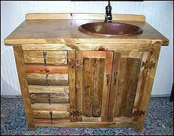 Rustic Bathroom Vanities For Vessel Sinks Vanities Vanity With Vessel Sink Rona Thompson Traders Vanity