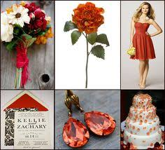 fall wedding colors bridal party google attendents