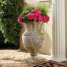 Outdoor Vase Decorative Outdoor Planter Frontgate