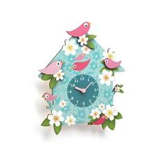 coucou charlotte djeco clock for child s room cad eau online djeco child s clock coucou charlotte dd032927