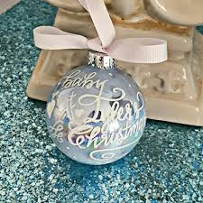 painted glass calligraphy ornaments pearlescent