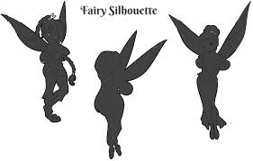 tinkerbell and fairy silhouette free printable images 2017