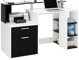 bureau avec rangement demeyere 305889 oracle multimedia avec 1 porte tiroir panneau de